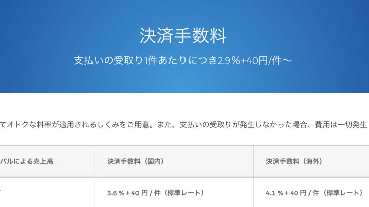 【まとめ】PayPal(ペイパル)の手数料(支払い、受け取り、出金)の計算方法
