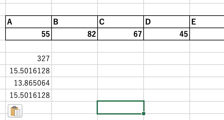エクセルで標準偏差を使う方法とグラフに表示させる方法